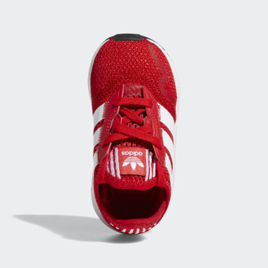 Chaussure Swift Run X Rouge Enfants Originals