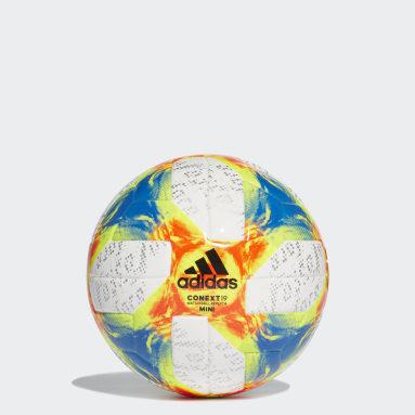 Football White Conext 19 Mini Ball