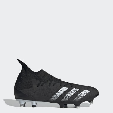 Football Black Predator Freak.3 Soft Ground Boots