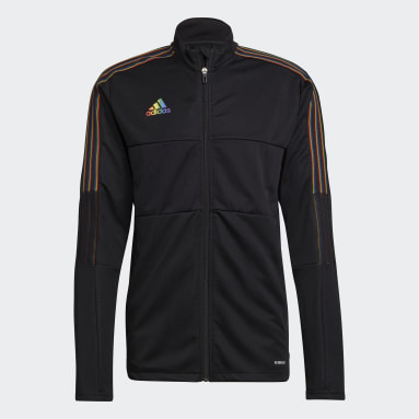 Fodbold Sort Tiro Pride træningsjakke