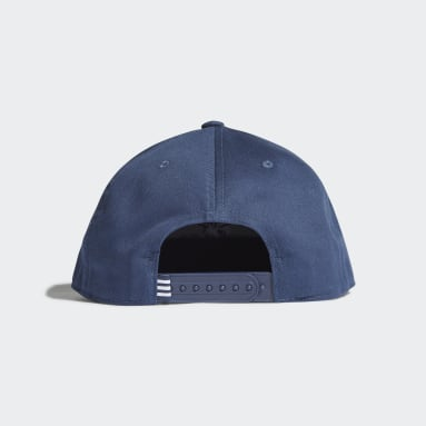 Cappellino Snapback Trefoil Blu Originals