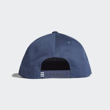 Casquette Snapback Trefoil Bleu Originals
