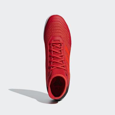 Calzado de Fútbol Predator Tango 19.3 Bajo Techo Rojo Hombre Fútbol