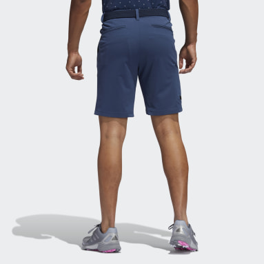 Men Golf Blue Cargo Shorts