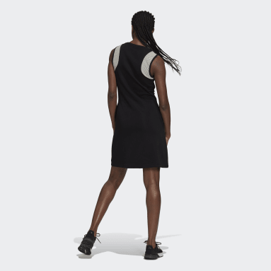 Women's Essentials Black adidas x Zoe Saldana Dress
