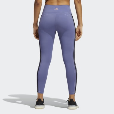 Tight 7/8 Believe This 2.0 3-Stripes Viola Donna Fitness & Training