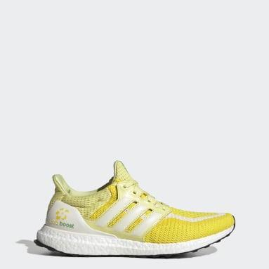 Running Yellow Ultraboost 2.0 Shoes