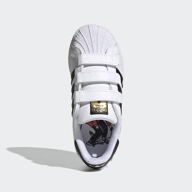 Chaussure Superstar Blanc Enfants Originals