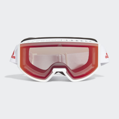 Skiing White Snow Goggles SP0040