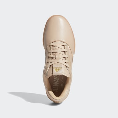Women Golf Beige Adicross Retro Spikeless Shoes