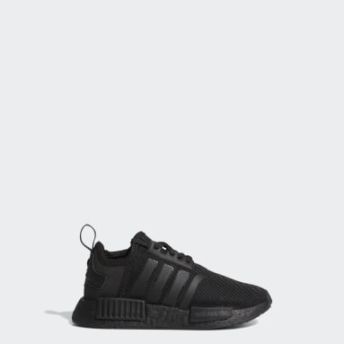 Children Originals Black NMD_R1 Shoes