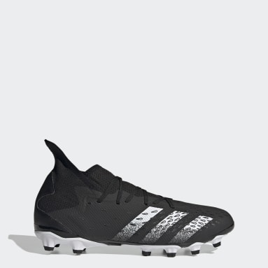 Men Football Black Predator Freak.3 Multi-Ground Boots