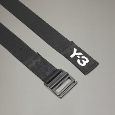 Y-3 Black Y-3 Classic Logo Belt
