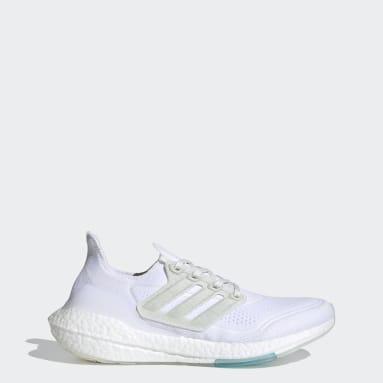 วิ่ง สีขาว รองเท้า Ultraboost 21 x Parley