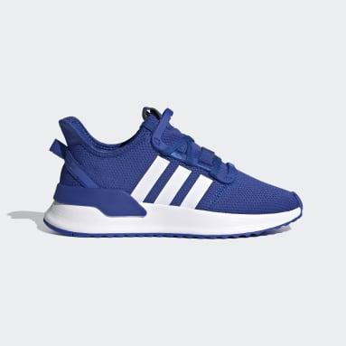 Děti Originals modrá Boty U_Path Run