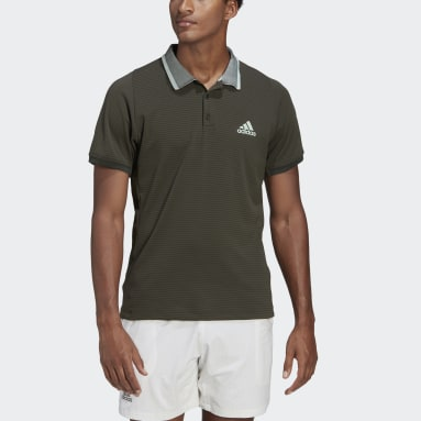 Herr Tennis Grön FREELIFT TENNIS POLO SHIRT AEROREADY