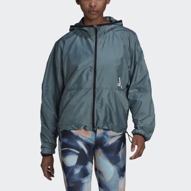 Ženy Sportswear zelená Větrovka You for You Hooded