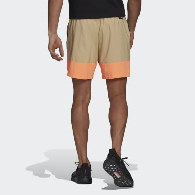 Men's Sportswear Beige adidas Sportswear Woven 3-Stripes Shorts