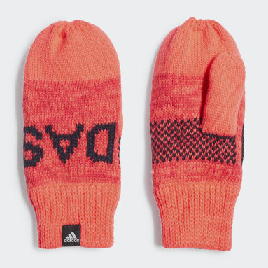 Girls Vintersporter Rosa Graphic Mittens