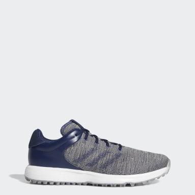 Men Golf Blue S2G Golf Shoes