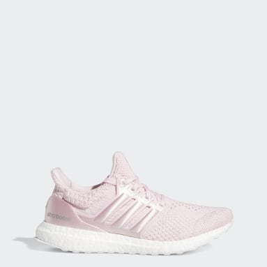 Women Running Pink ULTRABOOST 5.0 DNA
