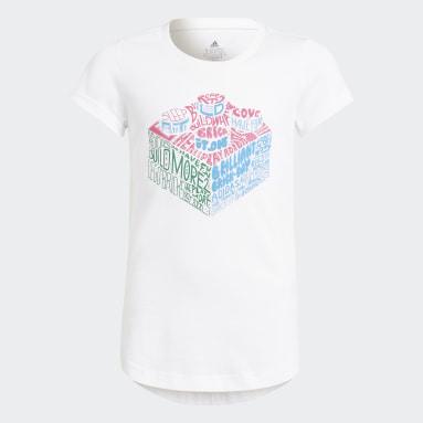 Camiseta LEGO® Graphic Blanco Niña Gimnasio Y Entrenamiento