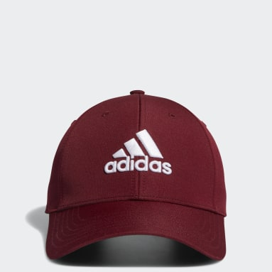 Men Golf Burgundy Performance Hat