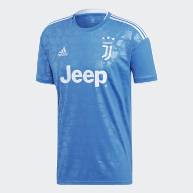 Men Football Blue Juventus Third Jersey