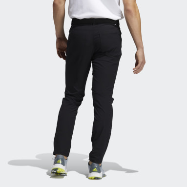 Men Golf Black Go-To Five-Pocket Trousers