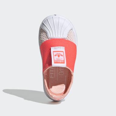 Zapatillas Superstar SMR 360 (UNISEX) Rosado Niño Originals