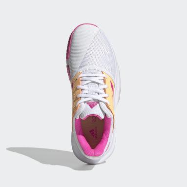 Zapatillas CourtJam para Tenis Blanco Niño Tenis