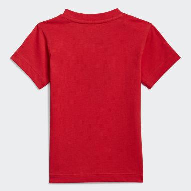 Děti Originals červená Tričko adidas SPRT Collection Graphic