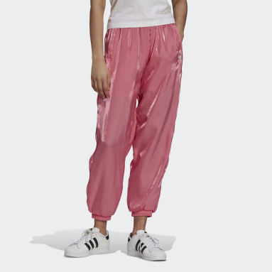 Pants Deportivos Rosa Mujer Originals
