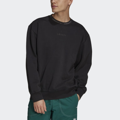 Men Originals Black Dyed Crewneck Sweatshirt