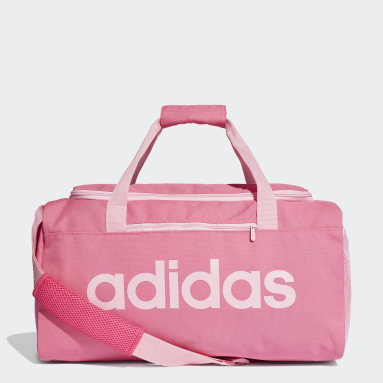 Sportswear Pink Linear Core Duffel Bag Small