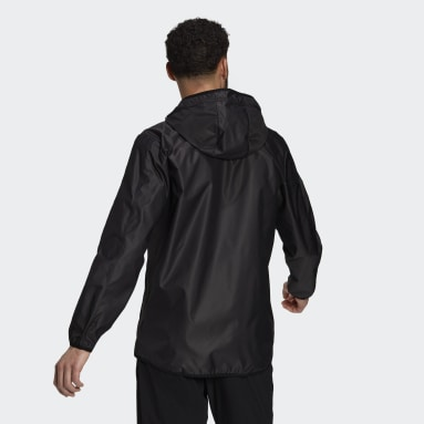 Men Training Black adidas Sportphoria Packable AEROREADY Windbreaker