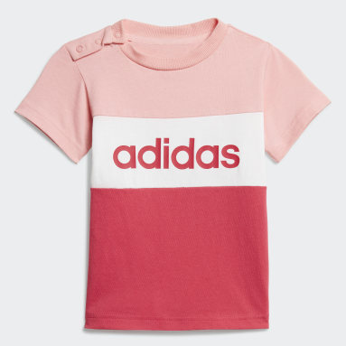 Ensemble Colorblock Rose Filles Sportswear
