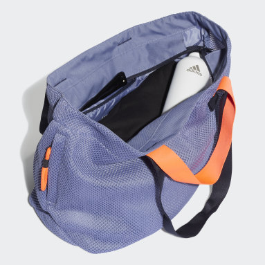 Tote Bag Mesh Sports Violet Femmes Studio