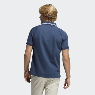 Men's Golf Blue Go-To Primegreen Pique Polo Shirt