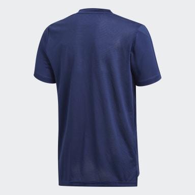 Camiseta entrenamiento Condivo 18 Azul Niño Gimnasio Y Entrenamiento