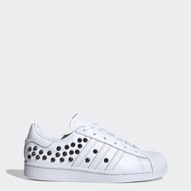 Chaussure Superstar. Blanc Femmes Originals