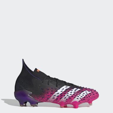 Zapatos de Fútbol Predator Freak.1 Terreno Firme Negro Hombre Fútbol