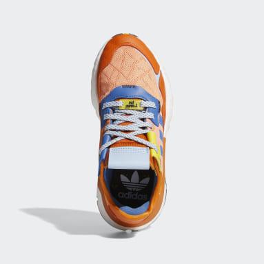Kinderen Originals Oranje Ninja Nite Jogger Schoenen