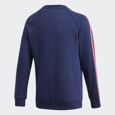Sweat-shirt ras-du-cou Real Madrid Bleu Adolescents Soccer