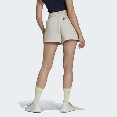 Dames adidas by Stella McCartney Grijs Sweat Fleece Short