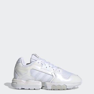 Women Originals White ZX Torsion Shoes