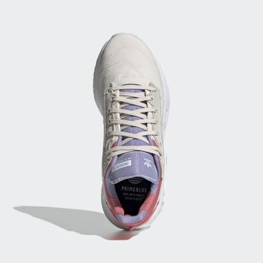Kinder Originals Geodiver Primeblue Schuh Weiß