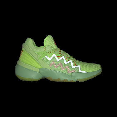 Chaussure D.O.N. Issue #2 Marvel Spidey Sense vert Basketball
