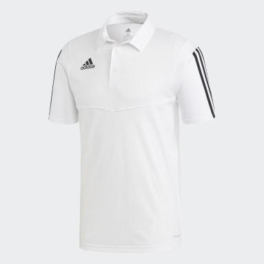 POLO TIRO Blanco Hombre Fútbol