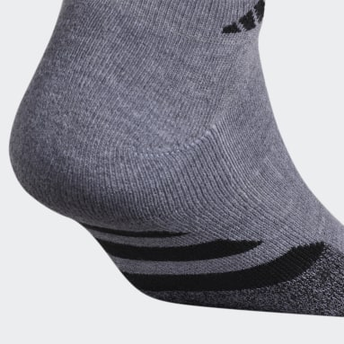 Men's Training Grey Cushioned 2.0 Low-Cut Socks 3 Pairs